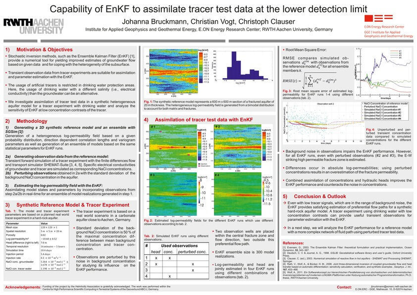 Water flow and permeability estimation in a te    - RWTH AACHEN